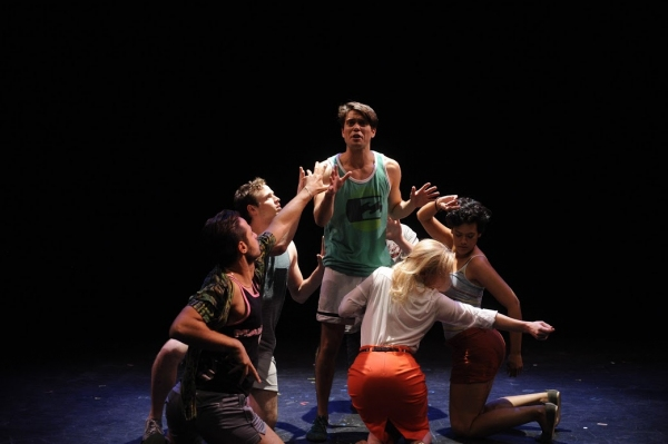 Photo Flash: New Shots from In Absentia Productions' PENINSULA at FringeNYC