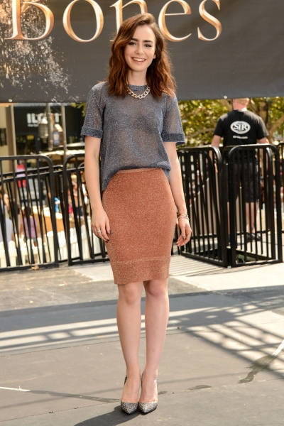 Lily Collins Photo