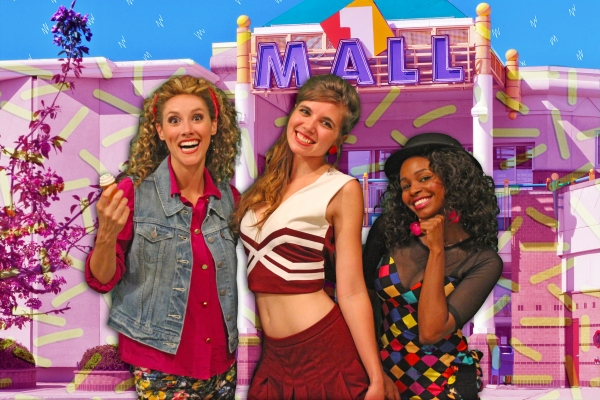 April Kidwell as Jessie Spano, Maribeth Theroux as Kelly KaPOWski and Shamira Clark as Lisa Turtle