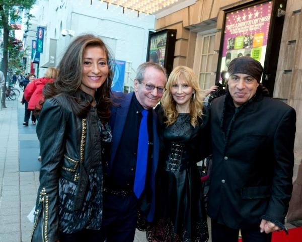 Catherine & Marc Brickman with Maureen & Stevie Van Zandt