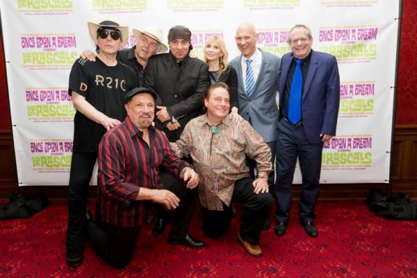 The Rascals with Stevie & Maureen Van Zandt, David Mirvish and Marc Brickman Photo