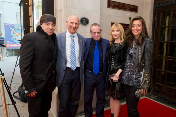 Stevie Van Zandt, David Mirvish, Marc Brickman, Maureen Van Zandt and Catherine Brickman