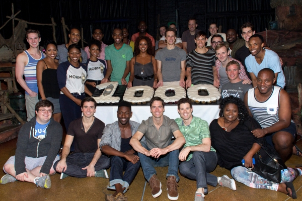 Photo Coverage: THE BOOK OF MORMON Celebrates 1,000th Performance