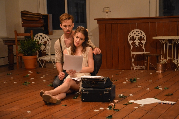 Ross Cowan (Algy) and Charlotte Graham (Cecily) Photo
