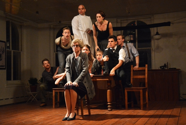 Photos: First Look at M-34's THE IMPORTANCE OF BEING ERNEST HEMINGWAY