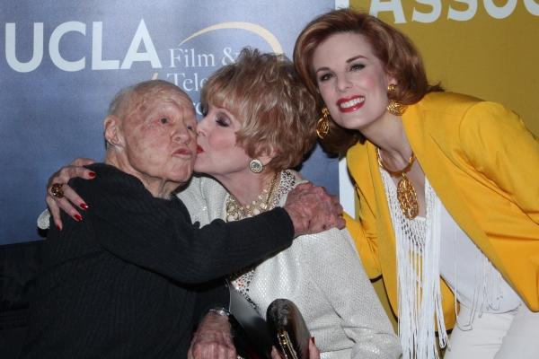 Mickey Rooney, Karen Sharpe Kramer, Katharine Kramer