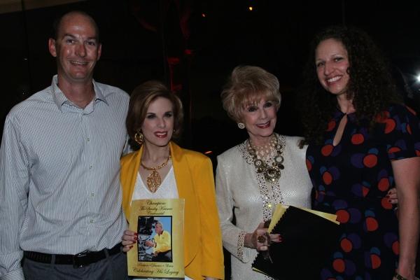 Zach Miller, Katharine Kramer, Karen Sharpe Kramer, Andrea Miller