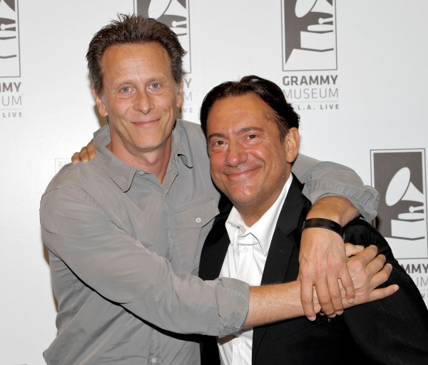 Steven Weber and Eugene Pack