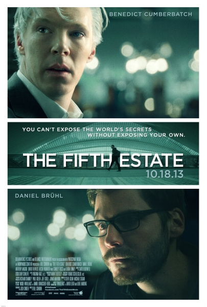 Photo Flash: New Poster for THE FIFTH STATE, Feat. Benedict Cumberbatch