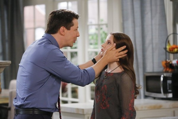 Sean Hayes as Sean, Samantha Isler as Ellie -- (Photo by: Vivian Zink/NBC)