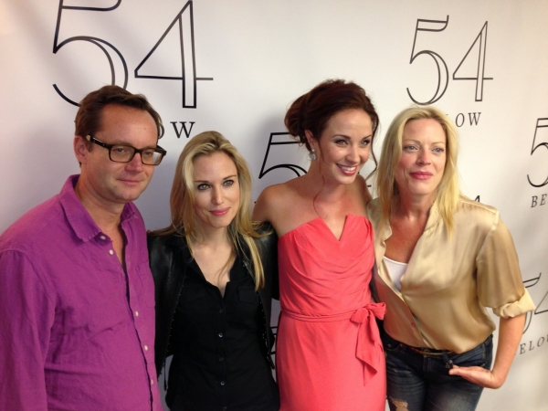 MICHAEL RIEDEL, IMOGEN LLOYD WEBBER, SIERRA BOGGESS and SHERIE RENE SCOTT