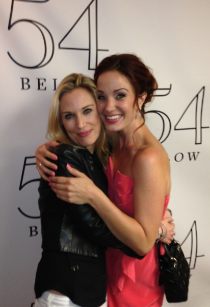 IMOGEN LLOYD WEBBER (left) and SIERRA BOGGESS