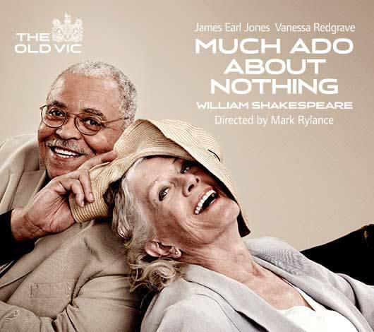 Redgrave & Jones In New MUCH ADO Promo Poster