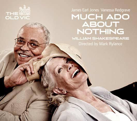 Redgrave & Jones In New MUCH ADO Promo Poster