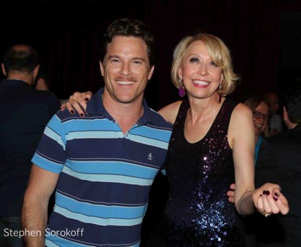 Mike Doyle and Julie Halston Photo