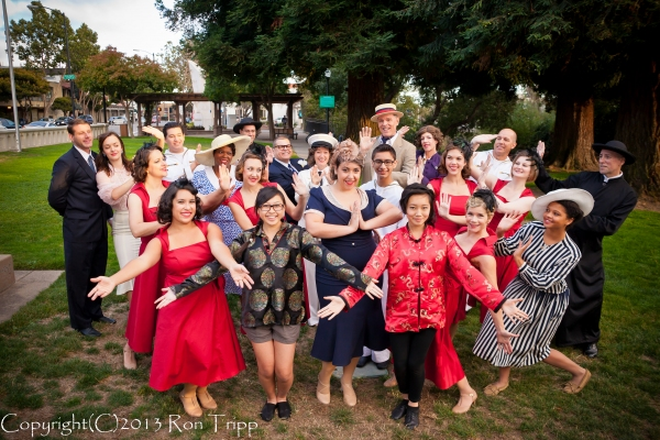 Photo Flash: ANYTHING GOES Plays Final Weekend in San Leandro, Now thru 8/25