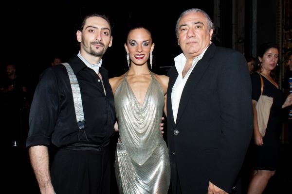 Juan Paulo Horvath, Victoria Galoto, Luis Bravo Photo