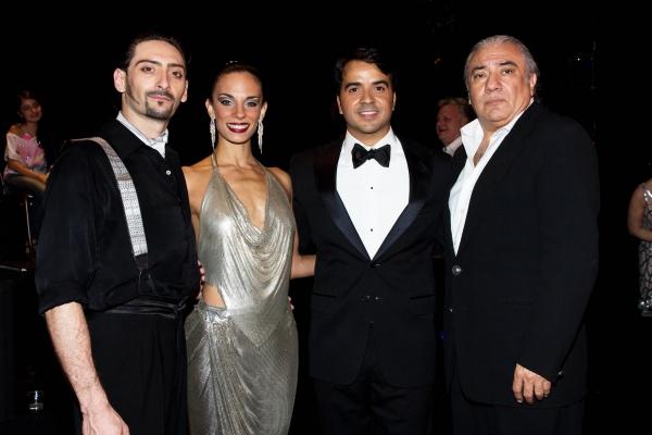 Juan Paulo Horvath, Victoria Galoto, Luis Fonsi, Luis Bravo Photo