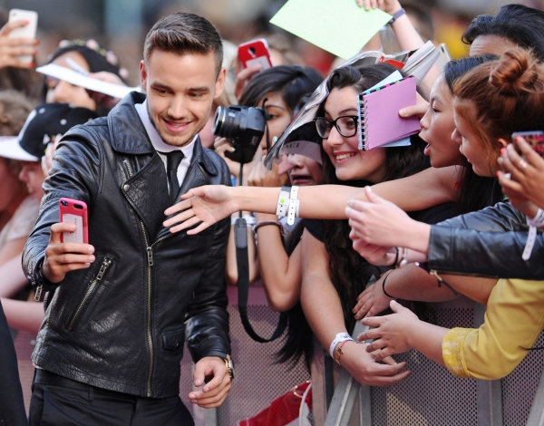 Liam Payne Photo by REX USA/David Fisher/Rex
