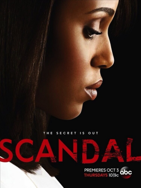 Photo Flash: New Poster Released for ABC's SCANDAL Season 3