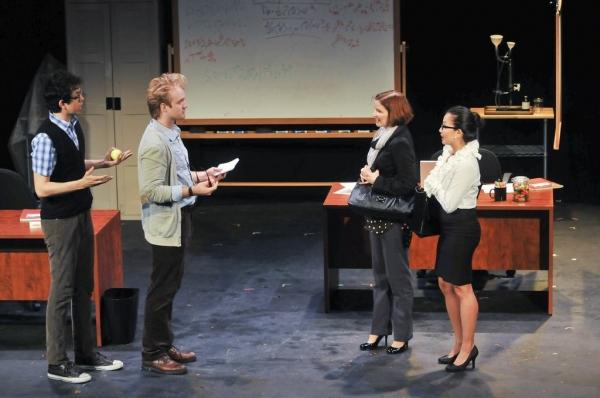 Geoffrey Arend, Dave Quay, Joy Farmer-Clary, and Kristin Villanueva