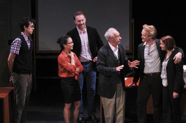 Geoffrey Arend, Kristin Villanueva, Chris Kipiniak, Pierre Epstein, Dave Quay, and Jo Photo