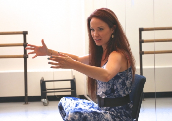 Photo Flash: Sierra Boggess Speaks at THE BROADWAY EXPERIENCE