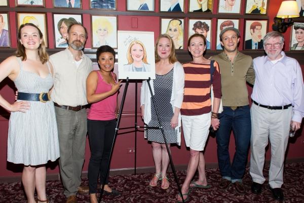 Liesel Allen Yeager, David Hyde Pierce, Shalita Grant, Kristine Nielsen, Julie White, Photo