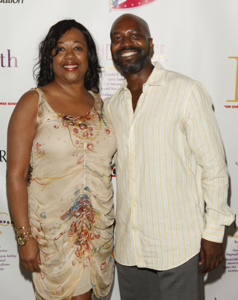 Gail Monroe-Perry and Ronald K. Brown, Artistic Director, Evidence, A Dance Company