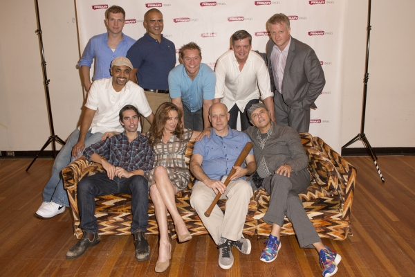 Photo Coverage: Meet The Company of Primary Stages 'Bronx Bombers'