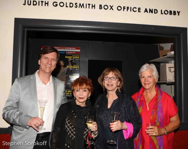 Tristan Wilson, Managing Director, Judy Goldsmith, Julianne Boyd, Artistic Director, Mary Ann Quinson BSC Board President