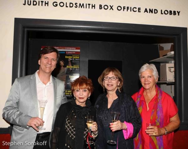 Tristan Wilson, Managing Director, Judy Goldsmith, Julianne Boyd, Artistic Director, Mary Ann Quinson BSC Board President