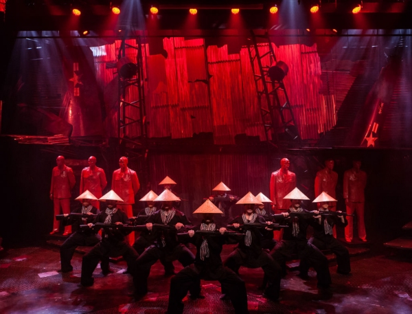 Photo Flash: First Look at Diana Huey, Jason Michael Evans and More in Signature Theatre's MISS SAIGON