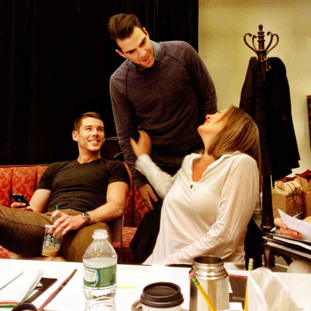 First Look At GLASS MENAGERIE Rehearsals With Quinto & More