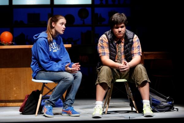 Katie Broad and Aidan Kunze