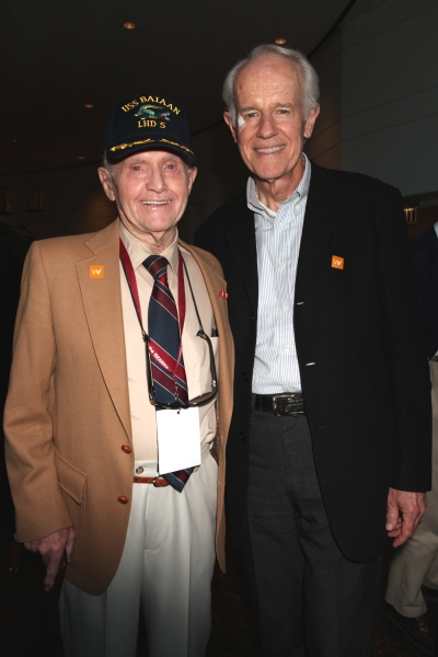 Jim Collier and Mike Farrell Photo