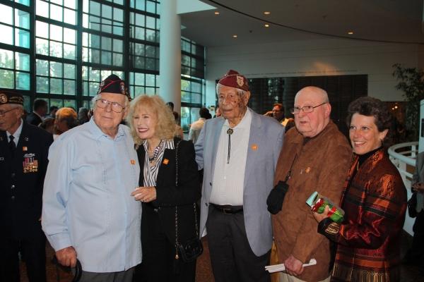 Ed Friese, Loretta Swit, Bill Sanchez,  Warren Jorgenson, Director Jan Thompson