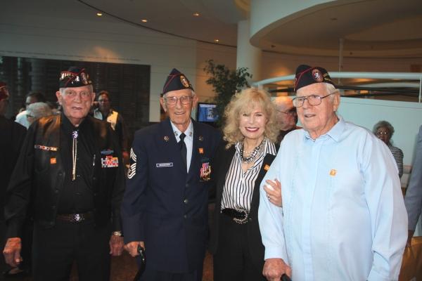 Bill Eldridge,  Harold Bergbower, Loretta Swit, Ed Friese