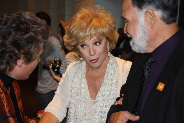 Director Jan Thompson, Ruta Lee and Francisco Lovato at the LA Premiere of Never The Same