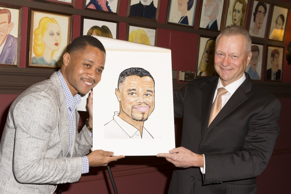 Photo Coverage: Oscar-Winner Cuba Gooding Jr. Unveils Sardi's Caricature!