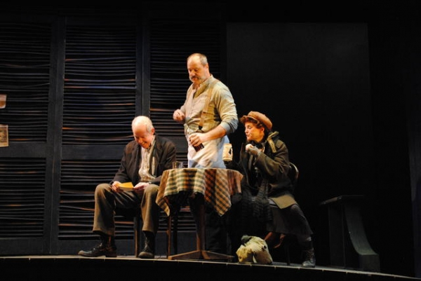 Jonathan Hogan, Walton Wilson and Alison Fraser Photo