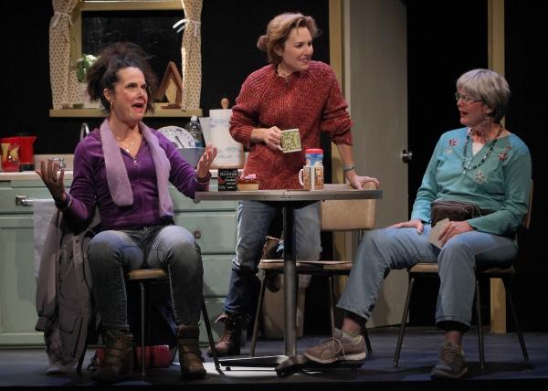 Jamie Jones (Jean), Amy Resnick (Margie) and Anne Darragh (Dottie)