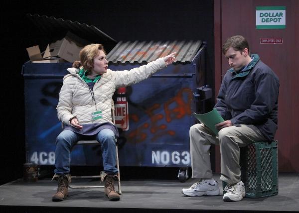 Amy Resnick (Margie) and Ben Euphrat (Stevie)