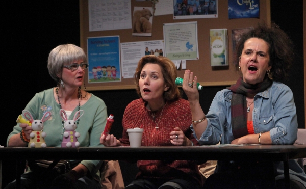 Anne Darragh (Dottie), Amy Resnick (Margie) and Jamie Jones (Jean)