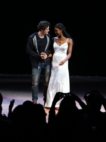 Photo Coverage: Orlando Bloom & Condola Rashad Take First Bows in ROMEO AND JULIET
