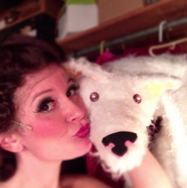 Photo Flash: Saturday Intermission Pics, August 24 - Part 2 - MATILDA's Lesli Margherita Takes a Crack at 'Candy Crush'; Plus THE LION KING National Tour, CATS & More!