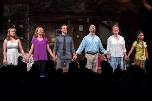 Liesel Allen Yeager, Julie White, Creed Garnick, David Hyde Pierce, Kristine Nielsen, Photo