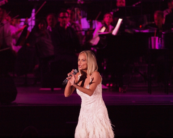 World Exclusive Photo Coverage: Kristin Chenoweth Shines at the Hollywood Bowl