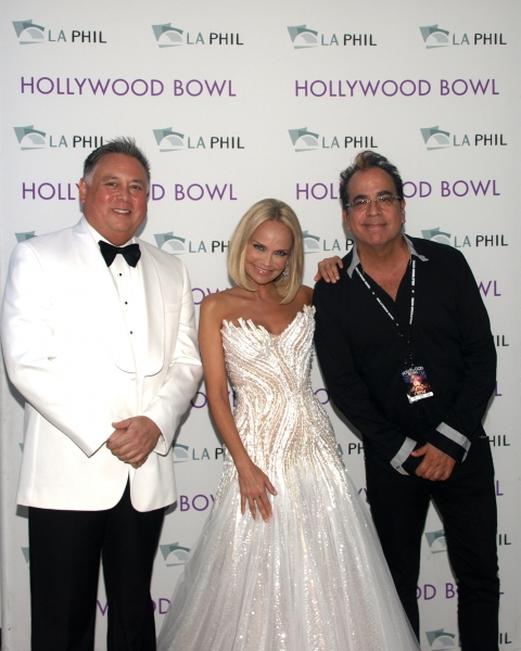 Kevin Stites, Kristin Chenoweth and director Richard Jay-Alexander