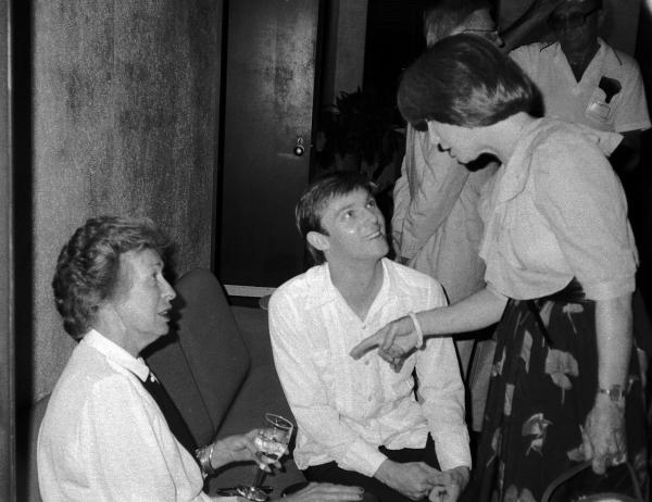 Eileen Heckart, Richard Thomas and Julie Harri